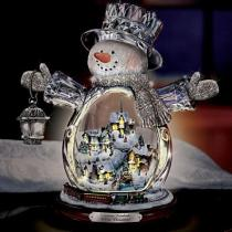 Paintings-Wonderland Express-Masterpiece Edition Crystal Snowman