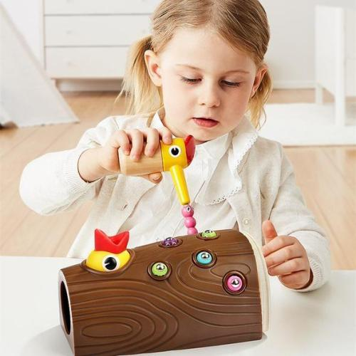 Woodpecker early education toy🎅Gifts for children
