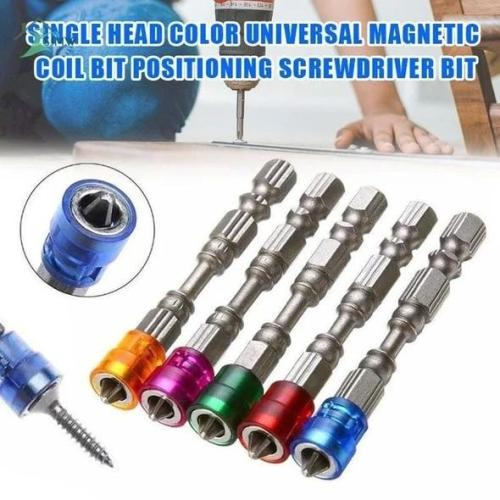 Magnetic coil bit