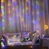 2020 New Smart Led Curtain String Lights