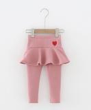 Plush Skirt Leggings