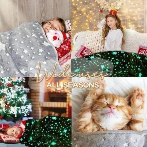 Glow-in-the-dark Children Blanket