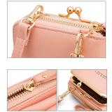 2021 New Lychee Pattern Women Phone Bag Messenger bag