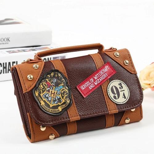 2021 Hogwarts style Crossbody PU wallet