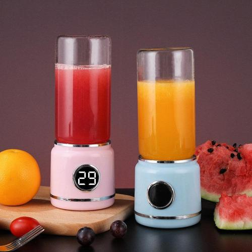 420ML USB Charging Juicer Cup Electric Household Portable Juice Machine Food Machine Hand Cup