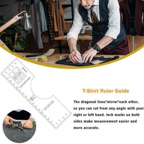 T-Shirt Ruler Guide