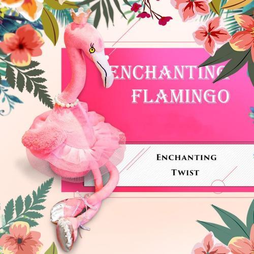Singing Danced Flamingo Soft Toy