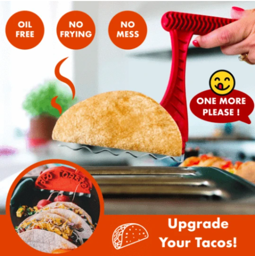 Taco Toaster,Makes Taco Tuesdays healthier without frying,Take Tacos To The Next Level