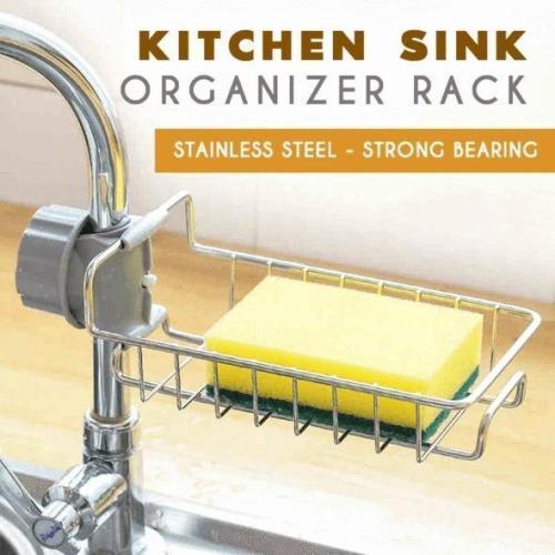 Kitchen Sink Organizer Rack