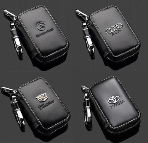 Car Key case,Genuine Leather Car Smart Key