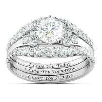 Sterling Silver Crown-Shaped Ring