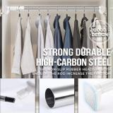 Punch-free Telescopic Shower Curtain Clothing Rod