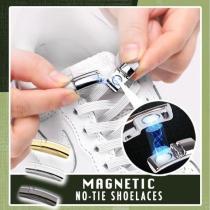 Magnetic No-Tie Shoelaces