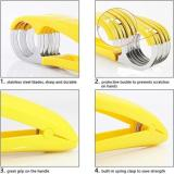 BANANA SLICER—HANDY KIDS CHOPPER FOR VEGETABLE CUCUMBER HOTDOG FRUIT