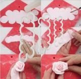 Rose Petal Mold (3pcs)