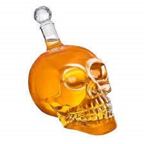 Excluzy Crystal Head Vodka 1000 Ml Skull Bottle Decanter