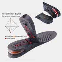 Air cushion heightening insole