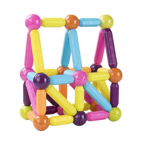 Magnetic Balls and Rods Set Educational Magnet Building Blocks
