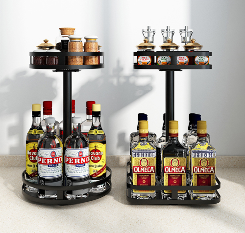 Stainless Steel Rotatable Rack For Easy Storage