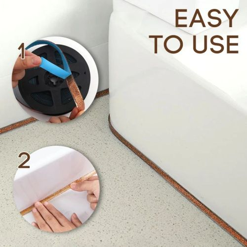 6 Meters Ceramic Tile Gap Mildewproof Waterproof Self-adhesive Decorative Tapes
