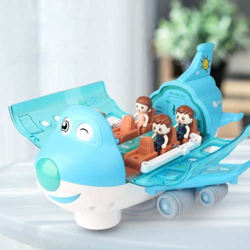 360° Rotating Electric Toy Plane