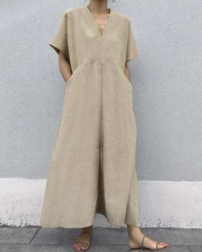 Casual Women Loose Fashion Jumpsuits