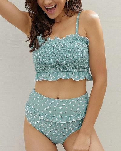 Removable Camisole Bikini Set
