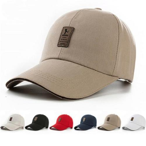 Cotton Baseball Cap Golf Snapback Outdoor Sports Sunscreen Hats