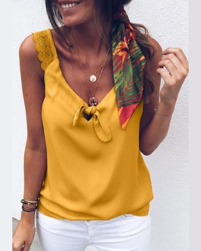 Fashion Women Summer Vest Top Sleeveless Shirt Blouse Casual Tank Top