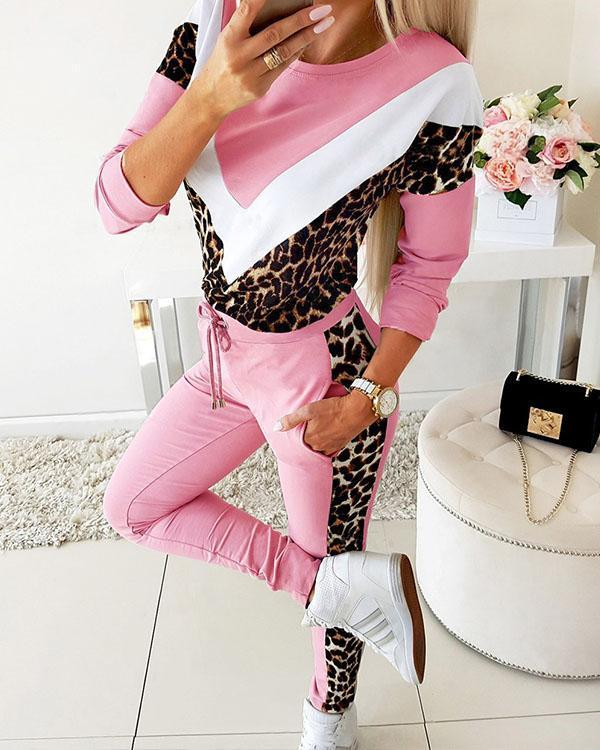 Women Tracksuit Hoodies Sweatshirt Pants Sport Sets