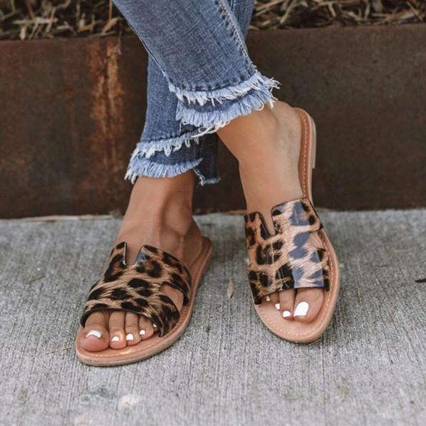 Summer Casual Slip On Sandals
