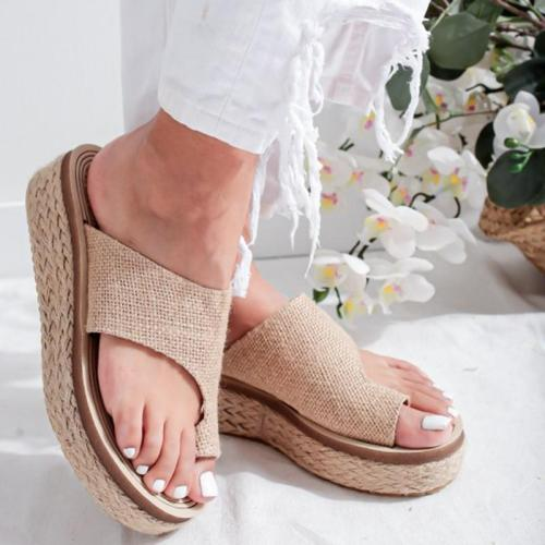 Women's Fashion Platform Casual Beach Slippers Sandals