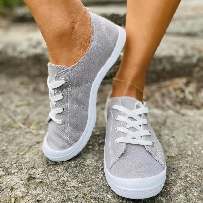 Women Comfy Slip-on Canvas Sneaker