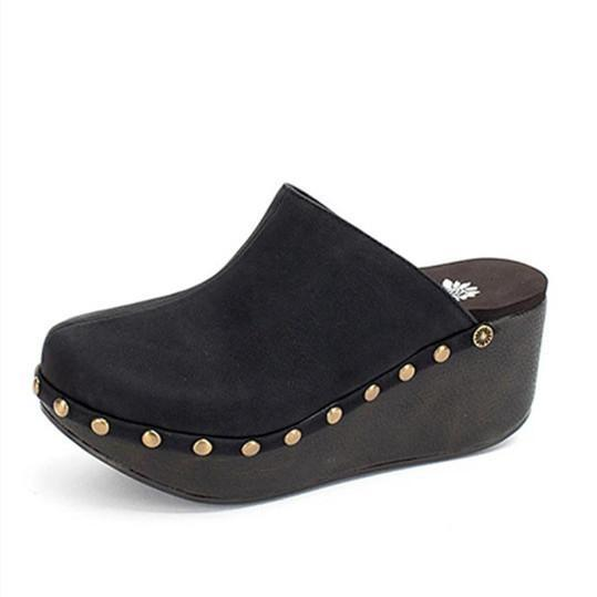 Women's comfortable wedge slippers