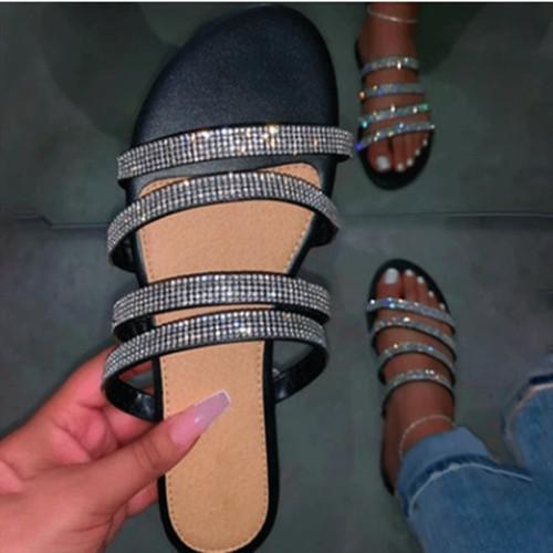Rhinestone sexy fashion sandals