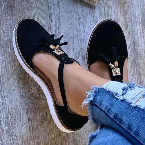 Women's Tassel Comfortable Flat Sandals