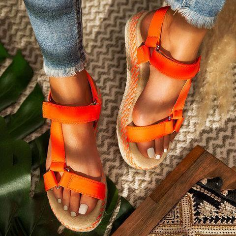 Women Casual Summer Daily Comfy Platform Sandals