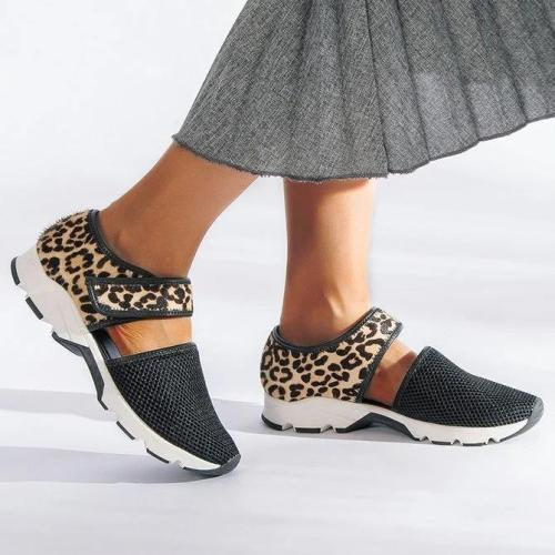 Hiking Flat Heel Magic Tape Sneakers