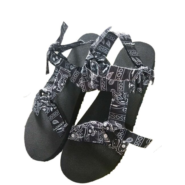 Women's  Pattern Open Toe Velcro  Sandals