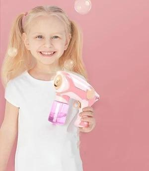 Magic smoke bubble machine for kids