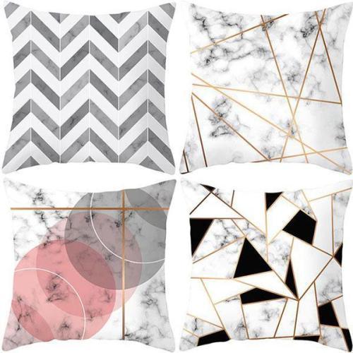 Geometric Super Soft Hug Pillow Sofa Cushion