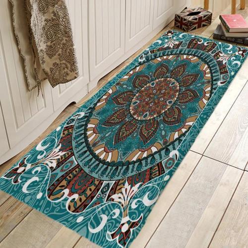 Bohemia Digital Printing Pattern Rug Bedroom Living room Door Bathroom Anti-slip Floor Mat Carpet
