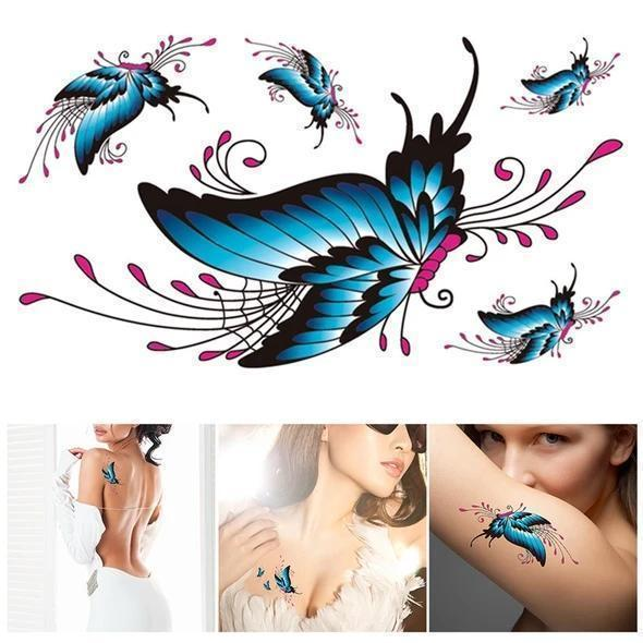 Trendy 3D Tattoo Stickers