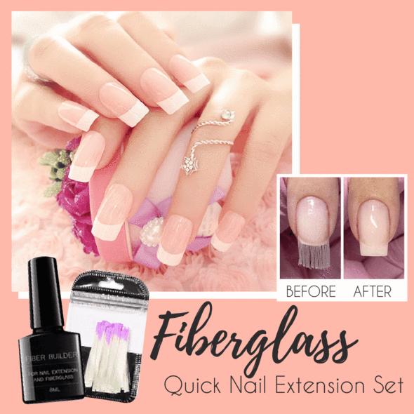Fiberglass Quick Nail Extension Set