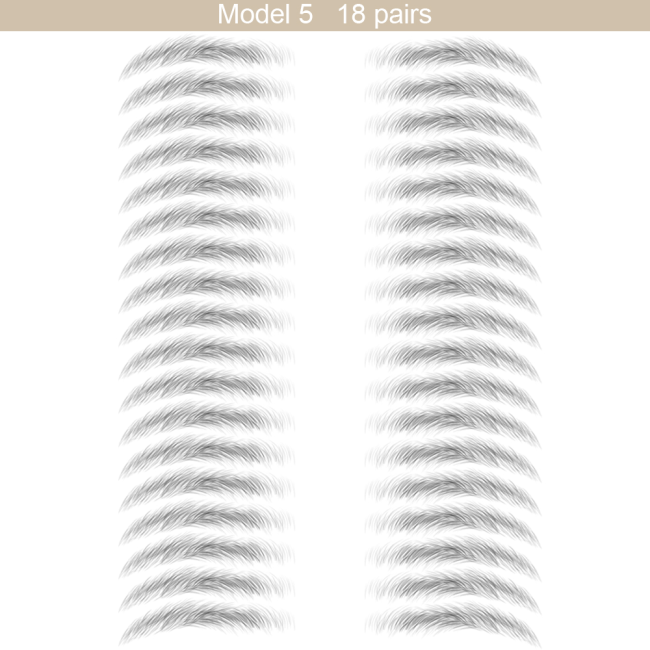 Temporary Eyebrow Tattoos