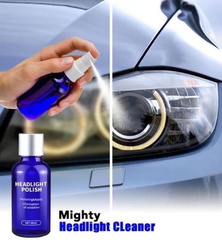 Headlight Cleaning Polish