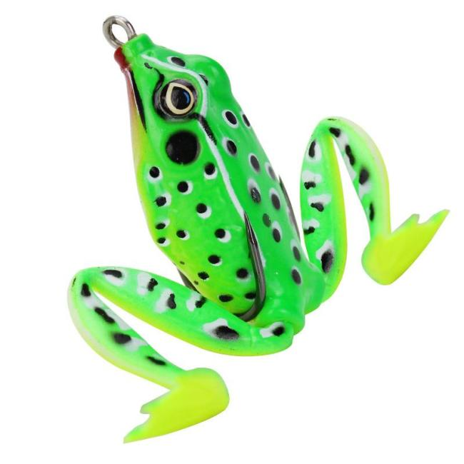 Rubber Frog Fishing Bait-realistic Frog Lure