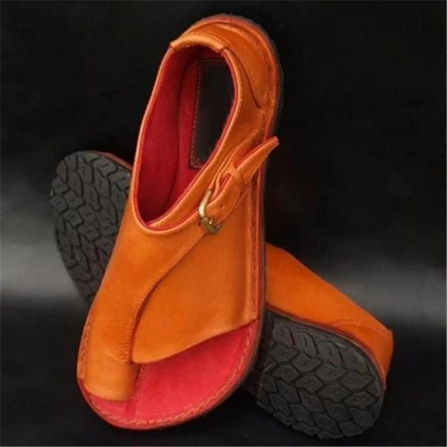 🔥 2020 New Summer Hot Sale Soft Leather Ladies Sandals