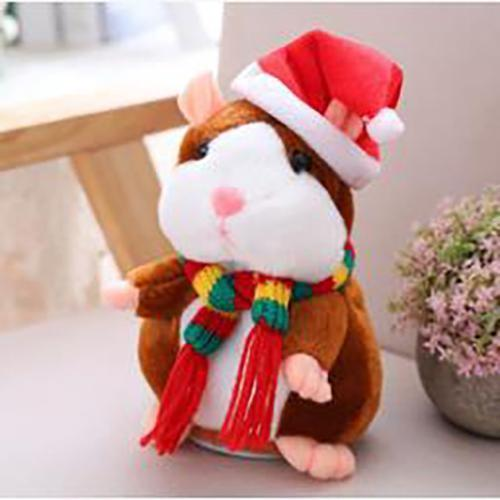 Christmas specials-Talking Hamster Plush Toy