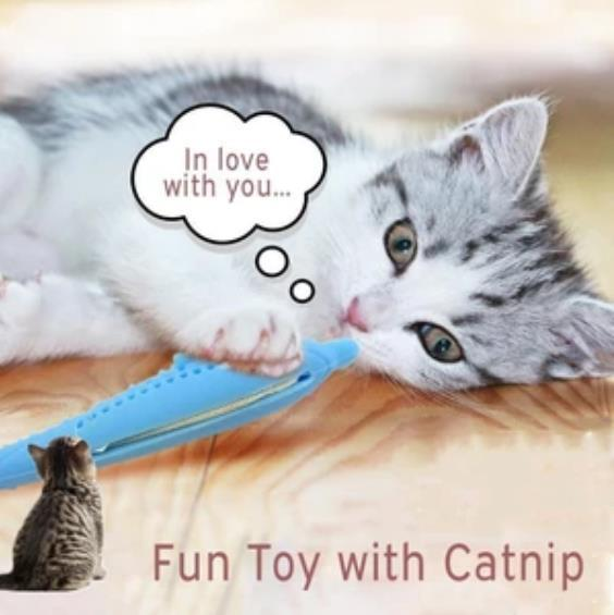 Cat Self-Cleaning Toothbrush Toy